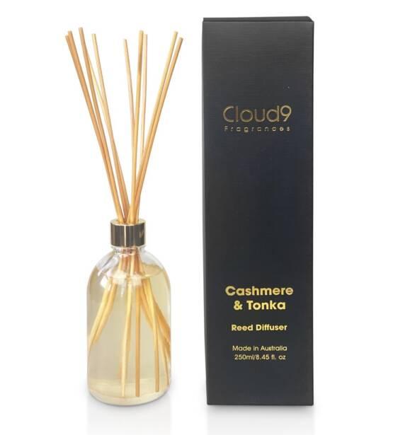Cloud Nine Fragrances Cashmere Tonka Reed Diffuser