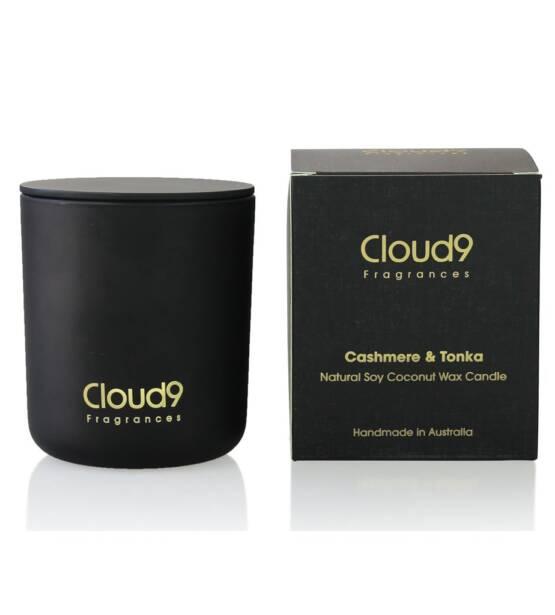 Cloud Nine Fragrances Cashmere Tonka Scented Candle 1024x