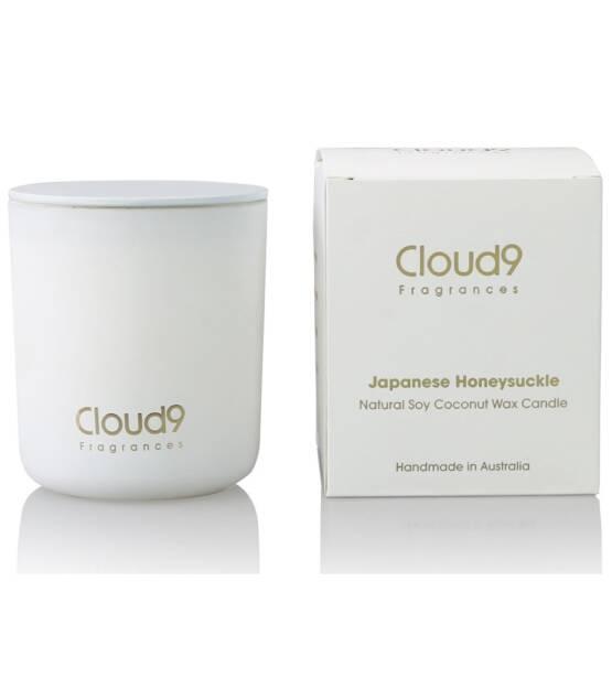 Cloud Nine Fragrances Japanese Honeysuckle Scented Candle 1024x