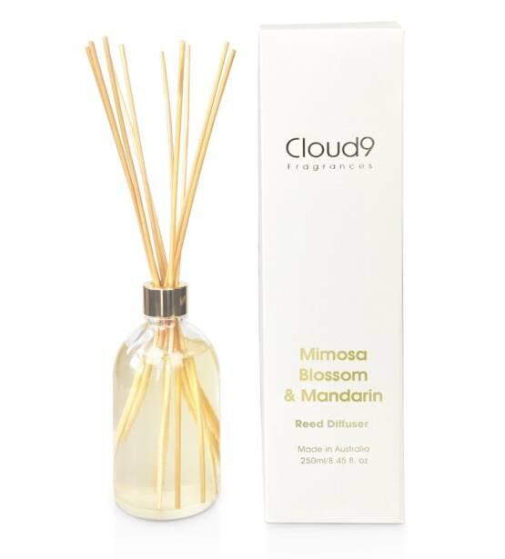 Cloud Nine Fragrances Mimosa Blossom Mandarin Reed Diffuser 1024x