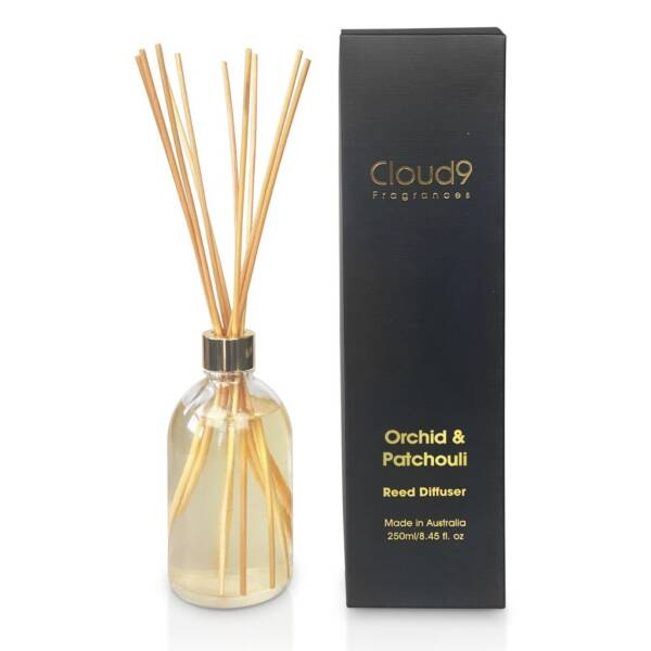 Cloud Nine Fragrances Orchid Patchouli Reed Diffuser 1024x