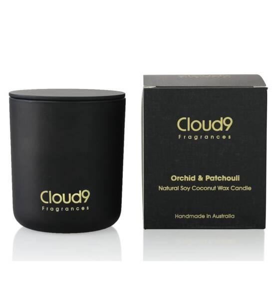Cloud Nine Fragrances Orchid Patchouli Scented Candle 1024x