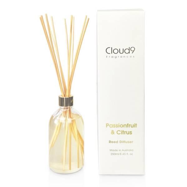 Cloud Nine Fragrances Passionfruit Citrus Reed Diffuser 1024x