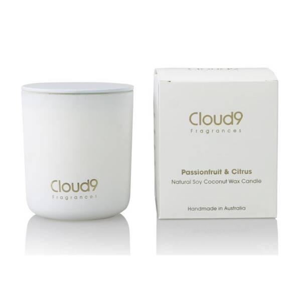 Cloud Nine Fragrances Passionfruit Citrus Scented Candle 800x