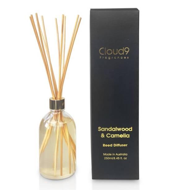 Cloud Nine Fragrances Sandalwood Camelia Reed Diffuser 1024x