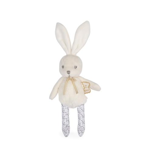 Perle doll rattle rabbit cream mini