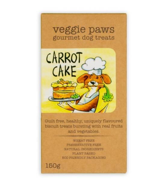 VeggiePaws Boxes CarrotCake F