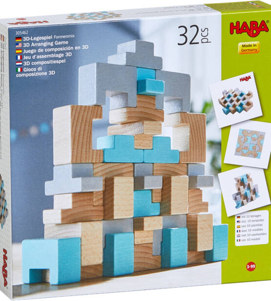 3D Arranging Game Shape Mix 1