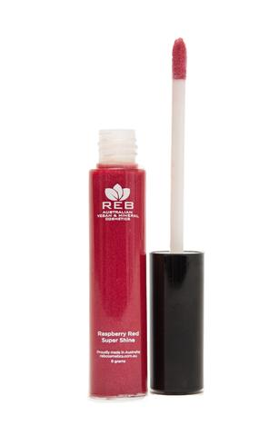 Raspberry red lipgloss large