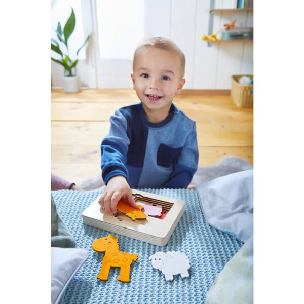 Wooden puzzle Farm Animals1